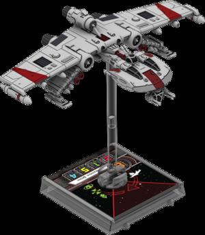 Figurine du vaisseau K-Wing