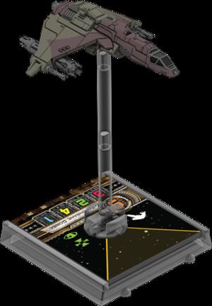 Figurine du vaisseau Chasseur Kihraxz 1re édition