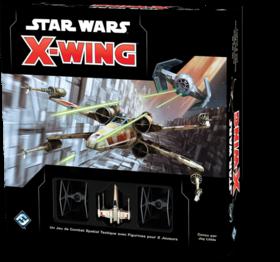 Boite de base du jeu X-wing Seconde Édition