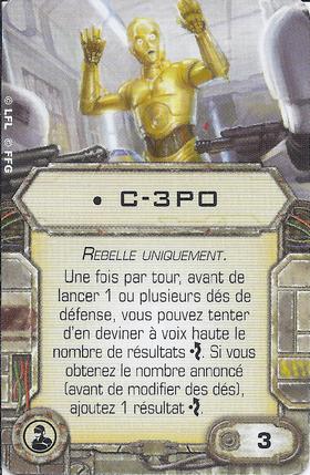 Carte d'amélioration • C-3PO