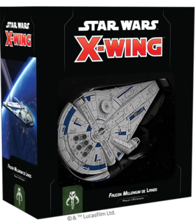 Boite du paquet d'extension Faucon Millenium de Lando