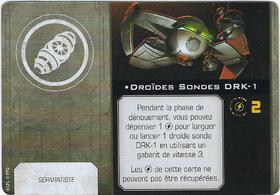 Carte d'amélioration Droïdes Sondes DRK-1