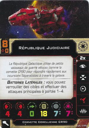 carte du pilote République Judiciaire