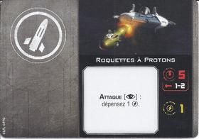 Carte d'amélioration Roquettes à Protons