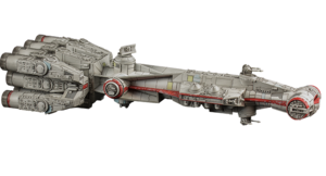 Figurine du vaisseau CR90