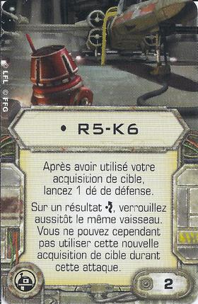 Carte d'amélioration • R5-K6