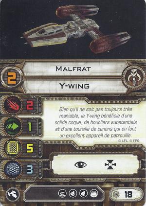 carte du pilote Malfrat