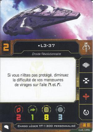 carte du pilote L3-37