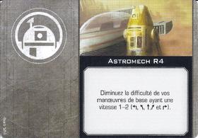 Carte d'amélioration Astromech R4