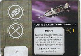 Carte d'amélioration Bombe Électro-Protonique