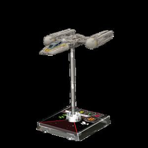 Figurine du vaisseau Y-Wing