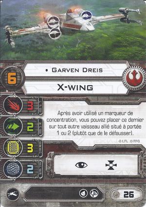 carte du pilote Garven Dreis
