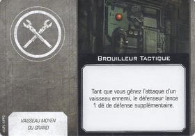 Carte d'amélioration Brouilleur Tactique