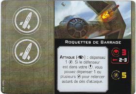 Carte d'amélioration Roquettes de Barrage